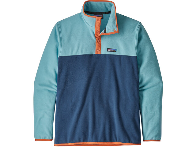 Patagonia Micro D Snap-T Pullover-takki Miehet, stone blue with dam blue